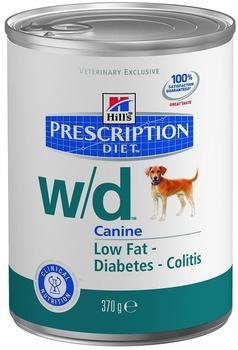 Hill's Prescription Diet Canine w/d (370 g)