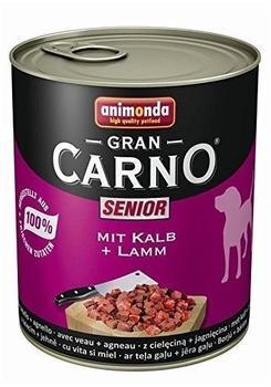 Animonda Gran Carno Senior Kalb und Lamm (800 g)
