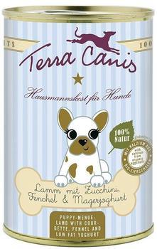 terra-canis-welpe-gefluegel-mit-kuerbis-kamille-und-bluetenpollen-400-g