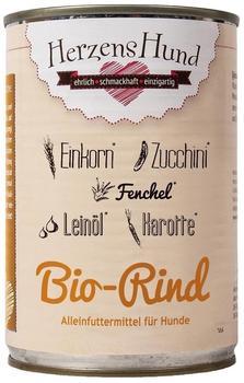 Herrmans Bio Rind mit Karotten und Amaranth (400 g)