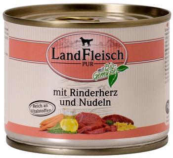 Dr. Alder's LandFleisch Pur Rinderherzen und Nudeln (195 g)