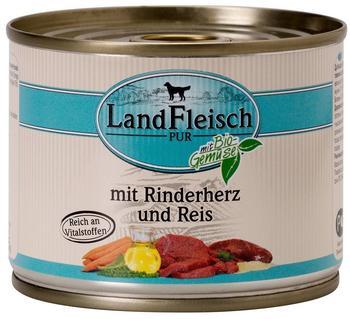 Dr. Alder's LandFleisch Pur Rinderherzen und Reis (195 g)
