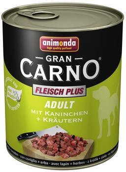Animonda Gran Carno Adult Kaninchen & Kräuter (800 g)