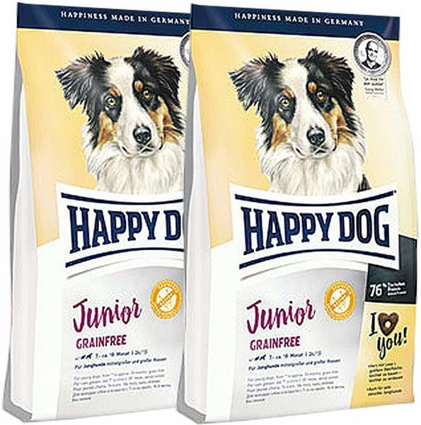 HAPPY DOG Flocken Vollkost 2 x 10 kg