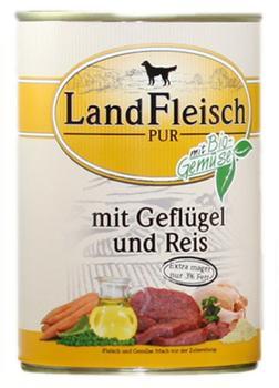 Dr. Alder's Landfleisch Pur Rinderherzen & Reis (400 g)