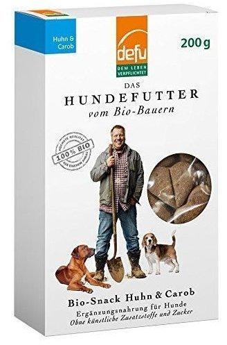 defu Hund Snack Huhn & Carob (200 g)
