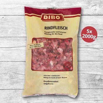Dibo Frostfutter Rindfleisch (2 kg)