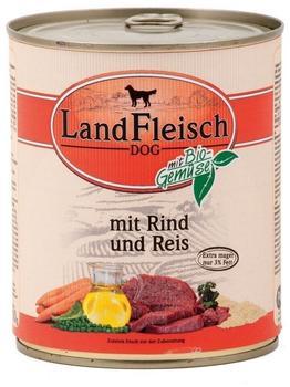 Landfleisch Lamm, Ente & Kartoffel 12 x 400 g