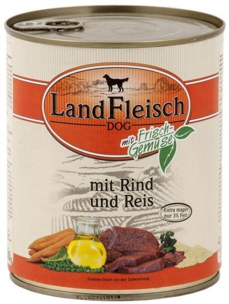 Dr. Alder's LandFleisch Pur Rind & Reis (800 g)