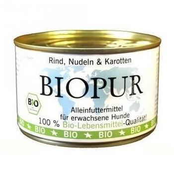 Biopur Rind, Nudeln & Karotten (400 g)
