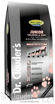 Dr. Clauders Best Choice Junior Lachs & Reis 4 kg