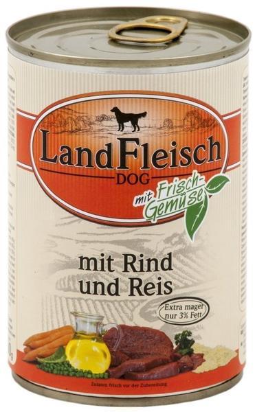 Dr. Alder's LandFleisch Pur Rind & Reis (400 g)