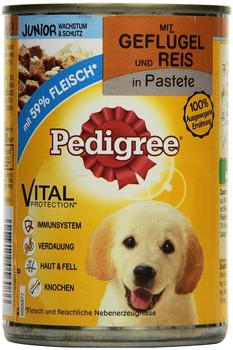 Pedigree Junior Geflügel & Reis (400 g)
