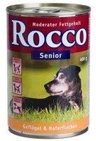 Lukullus Rocco Senior Geflügel & Haferflocken (400 g)