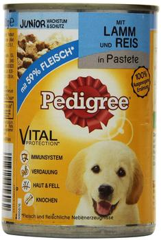 Pedigree Junior Lamm & Reis (400 g)
