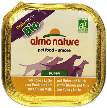 almo-nature-bio-pate-puppy-huhn-9-x-300-g