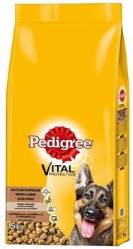 Pedigree Vital Deutscher Schäferhund mit Geflügel und Reis (15 kg)