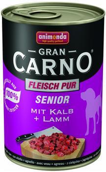 Animonda Gran Carno Senior Kalb und Lamm (400 g)