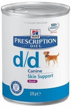 Hill's Prescription Diet Canine d/d Ente (370 g)