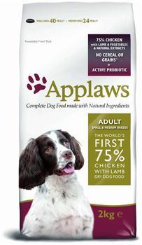 applaws-adult-small-medium-breed-huhn-und-lamm-2-kg