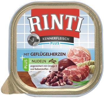 rinti-hunde-nassfutter-kennerfleisch-plus-9x300g-gefluegelherzen