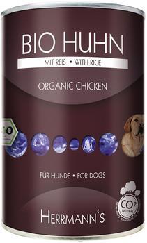 Herrmanns Hundefutter Bio Huhn mit Reis (400 g)