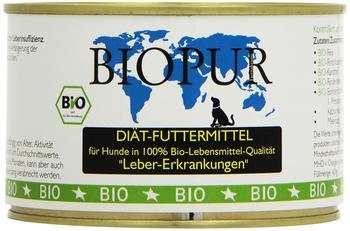 Biopur Bio Diätfutter Leber-Erkrankungen 400g, 6er Pack (6 x 400 g)