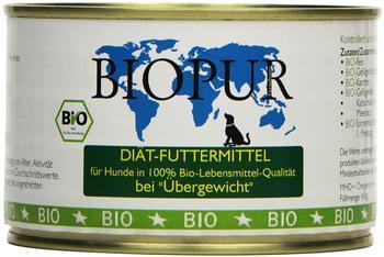 Biopur Bio Diätfutter Übergewicht 400g, 6er Pack (6 x 400 g)