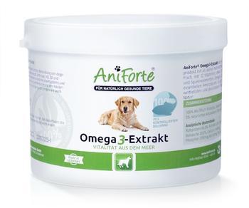 AniForte Aniforte Omega-3-extrakt 250g - Naturprodukt Für Hunde - wie Grünlippmuschelpulver Lachsöl Fischpulver
