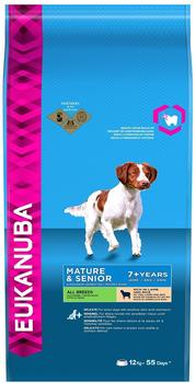 Eukanuba Mature & Senior Lamm & Reis (12 kg)