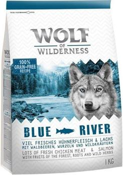 Wolf of Wilderness Adult Blue River Lachs 1 kg