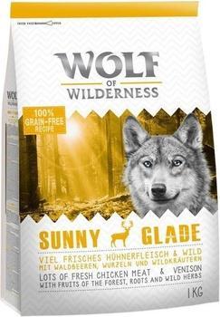 Wolf of Wilderness Adult Sunny Glade Wild 1 kg