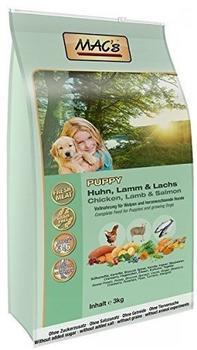 MACs Dog Puppy Huhn Lamm & Lachs 3 kg