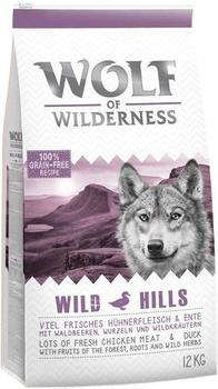 Wolf of Wilderness Adult Wild Hills Ente 400 g
