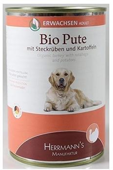 Herrmanns Hundefutter Bio Pute (400 g)