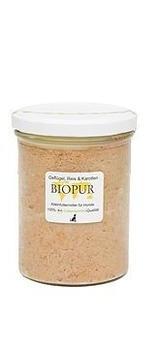 Biopur Hundefutter Menü mit Rind und Geflügel 400g im Glas 6 x 400g Rind, Reis, Karotten
