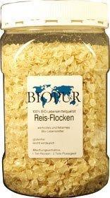 BIOPUR Bio Reisflocken, | Klarsichtbox 300g