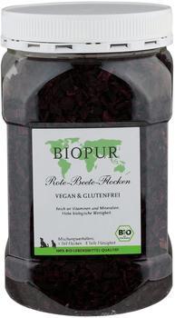 BIOPUR Bio rote Bete Flocken, 1er Pack (1 x 250 g)