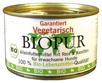 Biopur Vegetarisch Reis & Karotten (400 g)