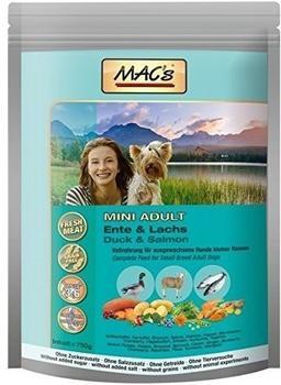 MACs Adult Mini Ente Lachs 750g