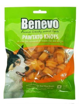 Benevo Veganer Süßkartoffelknochen