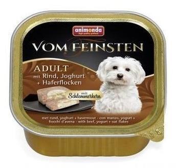 Animonda Vom Feinsten Adult mit Rind, Joghurt + haferflocken mit Schlemmerkern