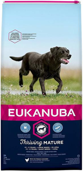 Eukanuba Hundefutter Senior Large Breed Huhn - 15kg