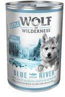 Wolf of Wilderness 6 x 400 g Wolf of Wilderness Blue River Junior dog food wet