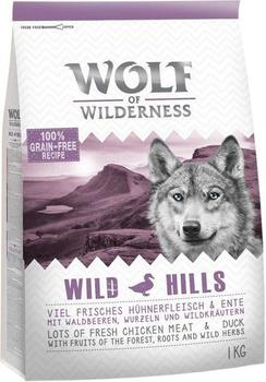 Wolf of Wilderness Adult Wild Hills Ente 1 kg