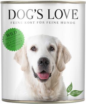 Dog´s Love Dog´s Love, Classic Wild, mit Kartoffel, Zwetschke & Sellerie 200g)