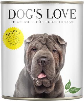 Dogs Love Huhn mit Birne, Quinoa & Karotte, - 6x200g