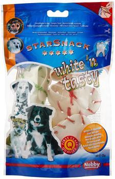 Nobby Star Snack White n Tasty Kauschuh bunt 5 Stück 55 g