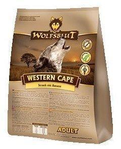 Wolfsblut Western Cape Adult - Strauß mit Banane (15 kg)