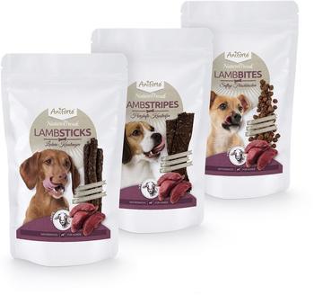 AniForte Aniforte Naturebreak Lamb Snack Set Hundesnack 3x150g- Naturprodukt für Hunde
